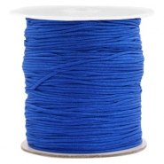 Macramé bead cord 1.0mm Egyptian Blue