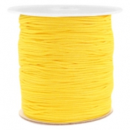 Macramé bead cord 1.0mm Soft Sunflower Yellow