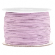 Macramé bead cord 0.5mm Lila Purple