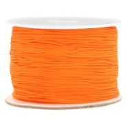 Macramé bead cord 0.5mm Orange