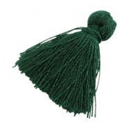 Tassels basic 2cm Dark Green