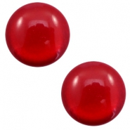 12 mm classic Polaris Elements cabochon soft tone shiny Warm Red