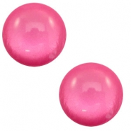 20 mm classic Polaris Elements cabochon soft tone shiny Magenta Pink