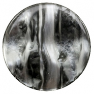 35 mm flat Polaris Elements cabochon Perseo Black Silver