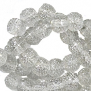 Sparkling beads 8mm Grey opal