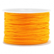 Macramé bead cord 1.0mm Brilliant Orange