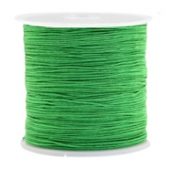 Macramé bead cord 0.5mm Classic Green