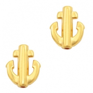 DQ European metal beads anchor Gold (nickel free)