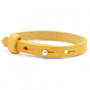Polaris Cuoio bracelets Cuoio bracelet leather 8 mm for 12 mm cabochon