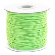 Coloured elastic cord 1mm Chartreuse Green