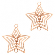 Bohemian connectors star Rose Gold