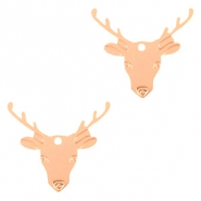 Bohemian charms reindeer Rose Gold
