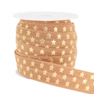 Elastic ribbon stars Camel Brown