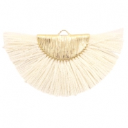 Tassels charm Gold-Off White