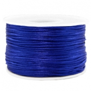 Macramé bead cord 1.5mm satin Cobalt Blue