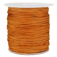 Macramé bead cord 1.0mm Chestnut Brown