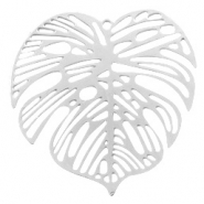 Bohemian charms leaf Silver (nickel free)