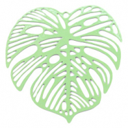 Bohemian charms leaf Meadow Green (nickel free)