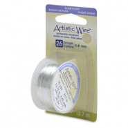 Artistic Wire 26 Gauge Tarnish Resistant Silver