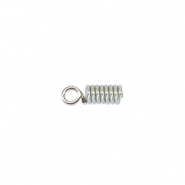 Beadalon Spring Cord End 1.8mm Silver