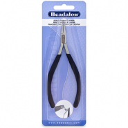 Beadalon Slim Line Chain Nose Pliers Black
