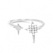 Must-have rings galaxy star Silver-Crystal (nickel free)