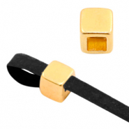 DQ European metal sliders/end caps Gold (nickel free)