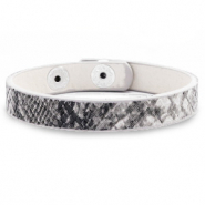 Ready-made bracelets snake Anthracite Grey