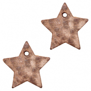 DQ European leather charms star Sequoia Brown