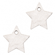 DQ European leather charms star Sweet Corn Grey