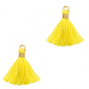 Tassels 1.5cm Gold-Freesia Yellow