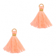 Tassels 1.5cm Gold-Bright Peach