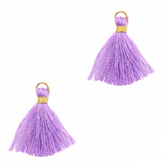 Tassels 1.5cm Gold-Purple