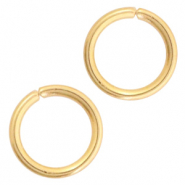 Stainless steel findings jumprings 6mm Gold