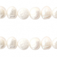 Freshwater pearls 9-10mm Natural White