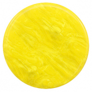 35 mm flat Polaris Elements cabochon Lively Empire Yellow