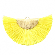Tassels charm Gold-Vibrant Yellow