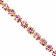 Rhinstone chain Hawthorn Rose-Gold