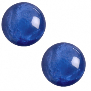 20 mm classic Polaris Elements cabochon pearl shine Iolite Blue