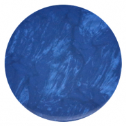 35 mm flat Polaris Elements cabochon Lively Iolite Blue
