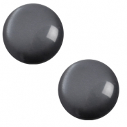 7 mm classic Polaris Elements cabochon soft tone Carbone Black