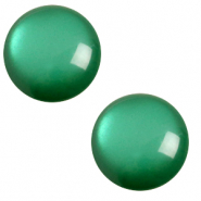 7 mm classic Polaris Elements cabochon soft tone Agata Green