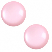 7 mm classic Polaris Elements cabochon soft tone Quarzo Pink