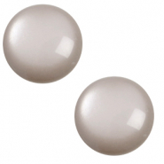7 mm classic Polaris Elements cabochon soft tone Acciaio Grey