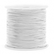 Macramé bead cord 0.8mm Light Grey