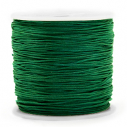 Macramé bead cord 0.8mm Dark Green