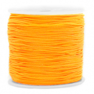 Macramé bead cord 0.8mm Warm Yellow