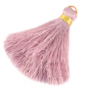 Tassels 6cm Limited edition Sweet Lilac Rose-Warmgold