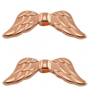 DQ European metal angel wings Rose gold (nickel free)