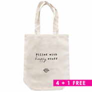 Combi deal 3 | Fashion bag canvas 4 + 1 Free